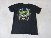 Guns N Roses Concert Shirt Adult Medium Black Rock Music Band Tour Axl Rose Mens