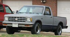 82-93 Chevrolet S10 Pickup SHOWCARS Rear Roll Pan (FM169)