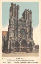 REIMS - Cathédrale Notre Dame -( ensemble nord-ouest) Collection de la Kolarsine
