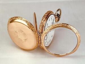 Rare 1890 WALTHAM Grade RIVERSIDE NON-MAGNETIC 15 Jewels Pocket Watch 16s - RUNS
