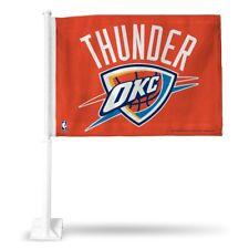 Oklahoma City Thunder NBA 11x14 Window Mount 2-sided Car Flag