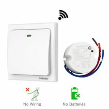 acegoo Wireless Lights Switch Kit, No Battery No Wiring, Quick Create or