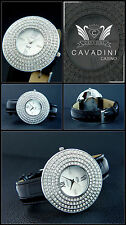 VERY NICE Cavadini Women's Watch Mother of Pearl Face Easy to Read Series Casino