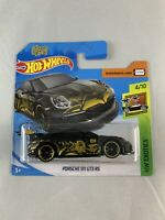 Hot Wheels - Porsche 911 GT3 RS Tanner Fox TFOX - BOXED SHIPPING - 1:64 Diecast