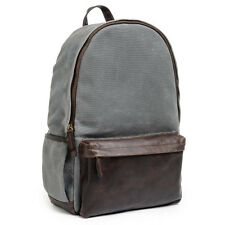 ONA Clifton Canvas Backpack in Smoke (Gray)- Timeless Handcrafted Quality ->NEW!