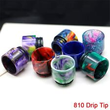 810 Drip Tip Epoxy TFV8 TFV12 Resin Mouthpiece Cap For Cloud Beast Big Baby