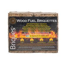 Wood Fuel Briquettes - DECC BSL0026602-0001 - Individual Packs of 12 Briquettes
