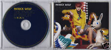 PATRICK WOLF The Magic Position 2007 UK promo CD WOLF4