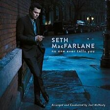 No One Ever Tells You by Seth MacFarlane (CD, Oct-2015, Republic)
