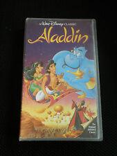 "ALADDIN""THE ORIGINAL ANIMATED CLASSIC:WALT DISNEY CLASSIC IN VHS. EXC CONDITION"