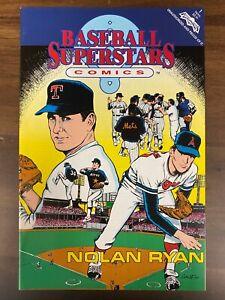 1991 Baseball Superstars Comic Book #1 Nolan Ryan MLB NM-MT