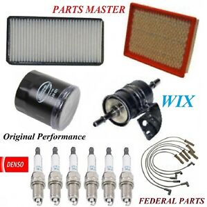 Tune Up Kit Filters Spark Plugs Wire For PONTIAC MONTANA V6; 3.4L 2004-2005