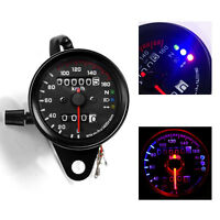 Motorcycle Odometer Speedometer LED Digital Gauge Fit Honda CG125 Cafe Racer