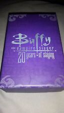Buffy The Vampire Slayer Silver Cross Necklace NEW official 20th anniversary