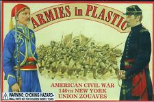 Armies in Plastic Civil War 1861-1865 146th New York Zouaves 1/32 Scale 54mm