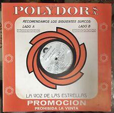 Jame Brown Rare Vinyl PROMO Polydor SEX MACHINE Venezuela Press 1975 * Excellent