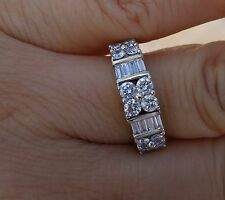 1.20ct Diamond wedding anniversary right-hand ring 14k WG