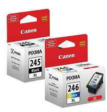 Genuine Canon PG-245XL & CL-246XL Ink Cartridges  *SEALED*