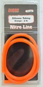 DUBRO Racing Silicone Nitro Fuel Line Tubing, Orange, 2' - 2232
