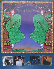 VOICES OF THE CELTIC WOMEN POSTER, HOLDING UP... (Z13)