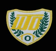 """UO Oregon Ducks """"WTD"""" Embroidered Iron-On Patch (Old Stock) 3.0"""" x 2.5"""" RARE A1"""