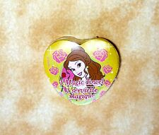 New Disney Magic Towel Princess Belle from Beauty & Beast yellow rose washcloth