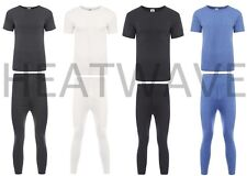 Hombre Conjunto de ropa interior térmica, Camiseta & Pantalones Capa Base Set ,