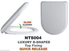 Premier Plastic D-Shaped Toilet Seats