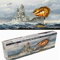 1/700 Military USS Arizona Class Battleship BB-39 Plastic Ship Model Kit Set DIY