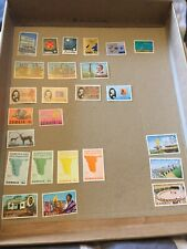 25 Mint Stamps From Zambia Sets And Part Sets All Different