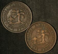 1871 1c Canada Prince Edward Island One Cent Tokens - Free Shipping USA