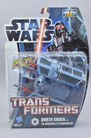 Transformers Star Wars Crossover Darth Vader Tie Advanced X1 Starfighter MOSC