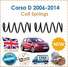 Für Opel Corsa D 1.3 1.7 CDTI Zwei Vordere Fahrwerksfedern Set Paar x2 Neu
