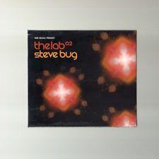 Steve Bug - The Lab 02 - 2CD MIXED - NEU OVP - HOUSE MINIMAL TECH HOUSE - TBFWM