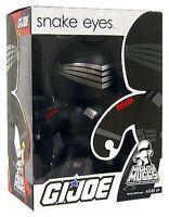 GI Joe Snake Eyes Mighty Muggs by Hasbro NIB NIP New in Package New in Box