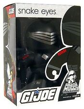 GI Joe Snake Eyes Mighty Muggs by Hasbro NIB NIP New in Package New in Box