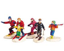 Lemax Winter Fun Figurines (670), Weihnachtsdorf, Winterfiguren, Modellbau