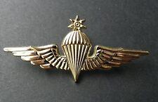 JORDAN PARA LARGE JUMP WINGS JORDANIAN LAPEL PIN BADGE 3 INCHES