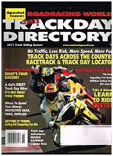 ROADRACING WORLD 2011 TRACKDAY DIRECTORY SEE CONTENTS PAGE IN SECOND PHOTO
