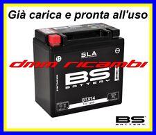 Batteria BS SLA Gel TRIUMPH SPEED TRIPLE 955 03>04 pronta all'uso 2003 2004