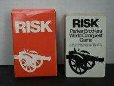 Complete Deck of 44 RISK Cards 1975 Board Game Replacement Parts Pieces