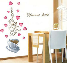 Deep feeling coffee Home room Decor Removable Wall Sticker/Decal/Decoration