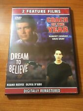 Coach Of The Year/ Dream To Believe (DVD) Keanu Reeves, Robert Conrad...65