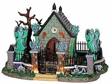 Lemax 55907 GRAVEYARD SCENE Spooky Town Building Sights & Sounds Decor I