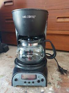 Mr. Coffee 4-Cup Programmable Coffeemaker DRX5 Black