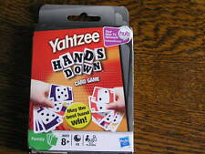 2009 Hasbro YAHTZEE HANDS DOWN Card Game For 2-6 Players Ages 8+ ~~NIP!!