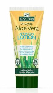 Aloe Pura Organic Aloe Vera After Sun Lotion (200ml)