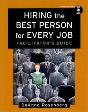 Hiring the Best Person for Every Job, Facilitator's Guide Package