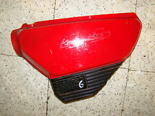 HONDA CX 500 - 1978 A 1982 - CARTER CARENAGE LATERAL GAUCHE ROUGE