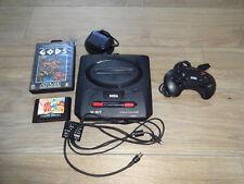 Sega Mega Drive II Spielekonsole Mit 1 Pad und den spielen Gods & Wonder Boy III